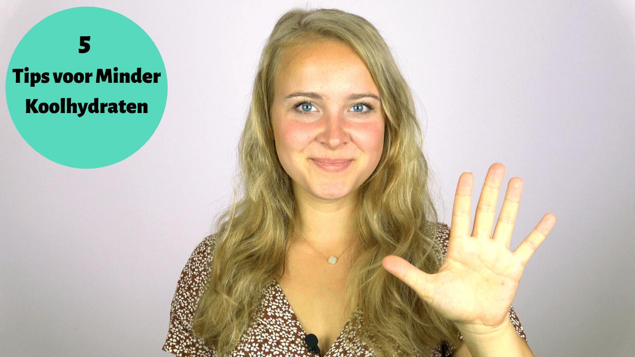 Video: Eet minder koolhydraten - 5 makkelijke tips