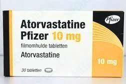 Atorvastatine medicijn van het merk Pfizer