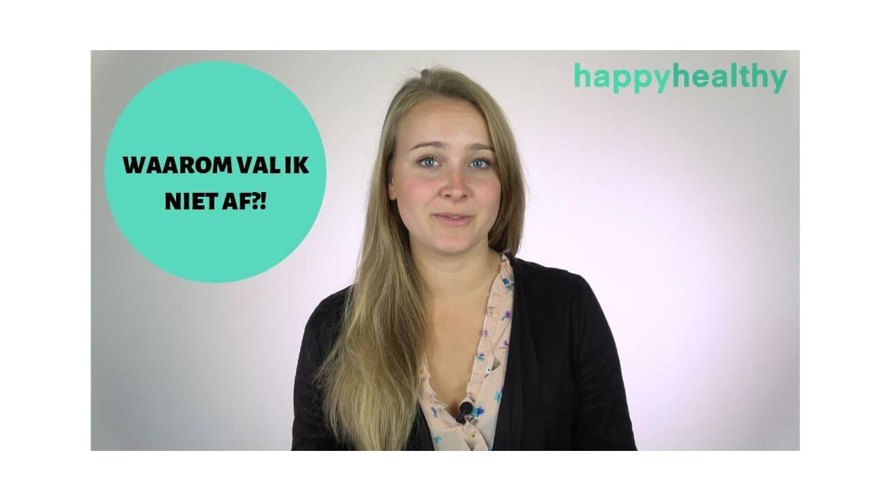 Video: De 4 Belangrijkste Redenen Waarom Je Niet Afvalt & Wat Te Doen