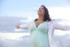 Vrouw met overgewicht