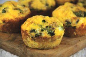 Eieren met zalm en spinazie