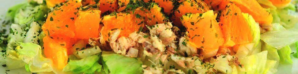 Gezonde Lunch Ingrediënten + recepten - makreelsalade