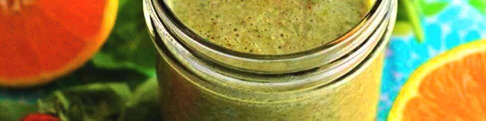 Gezonde Ontbijt Ingrediënten + recept groene smoothie