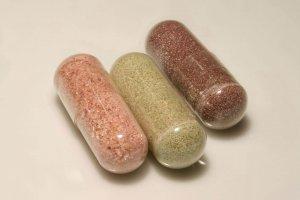 verschillende soorten extract capsules