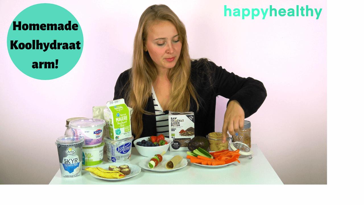 Video: Koolhydraatarme snacks