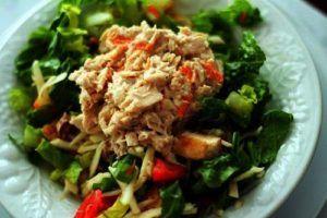 Lunch 3 Tonijn met groenten