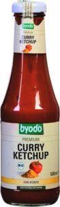 Fles curry ketchup van het merk byodo