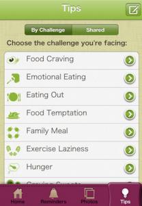 application de régime my dietcoach