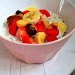 Overnight oats: het fruitige, zomerse ontbijt