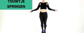 Video: 5 Minuten Workout Touwtje Springen voor Vetverbranding en Conditie
