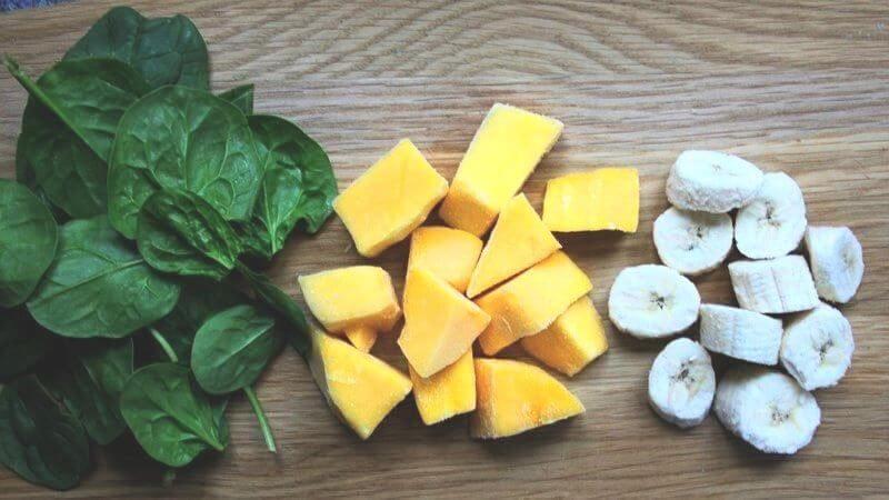 Tropische groene smoothie: exotisch lekker
