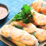 Vietnamese summer rolls: eten op rolletjes