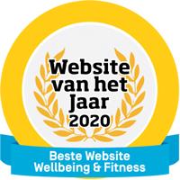 Website van het Jaar beste wellbeing fitness