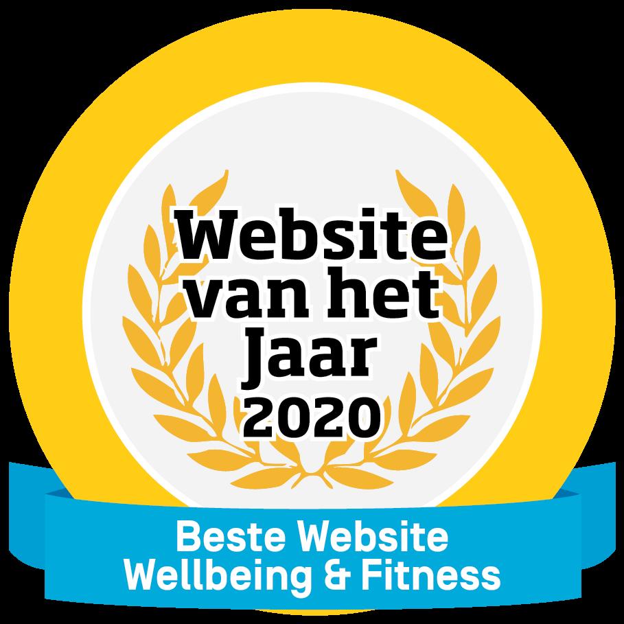 HappyHealthy.nl wint Website van het Jaar 2020!