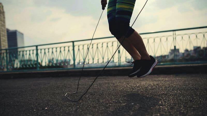 touwtje springen afvallen calorieen