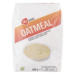 Basic oatmeal verpakking van het merk Albert Heijn