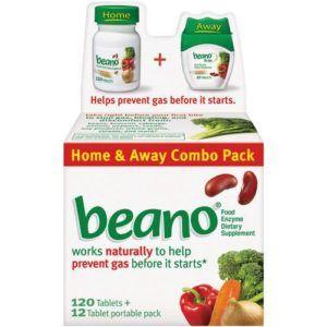 Beano enzympreparaat product