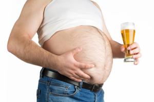 ventre à bière