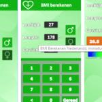 """BMI app: """"BMI Berekenen Nederlands"""""""