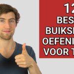 12 Beste Buikspieroefeningen voor Thuis (+ 1 Hardnekkige mythe)