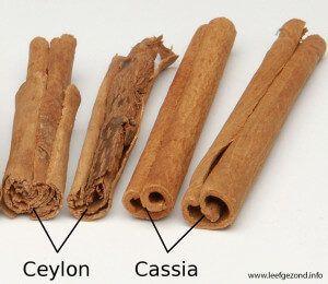 ceylon en cassia kaneel stokjes