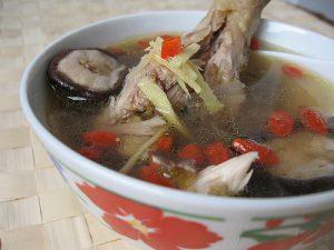 soupe aux baies de goji