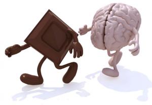 Chocolate negro y cerebro