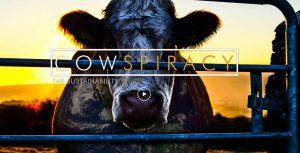 close up van een koe als poster van Cowspiracy