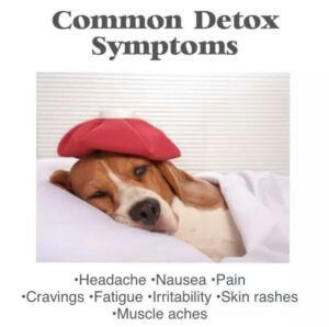 common detox symptoms