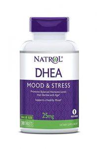 Dehydroepiandrosteron DHEA potje van het merk Natrol