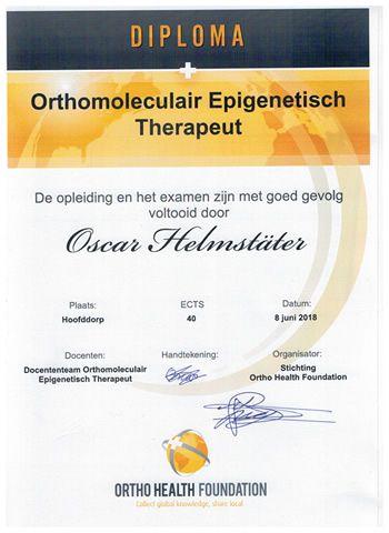 diploma OET scan