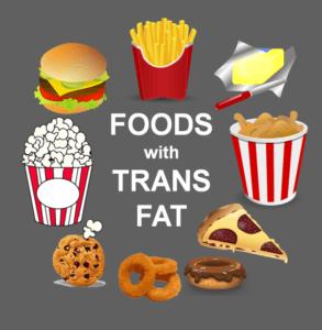 aliments riches en gras trans