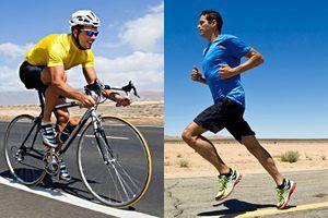 fietsen hardlopen