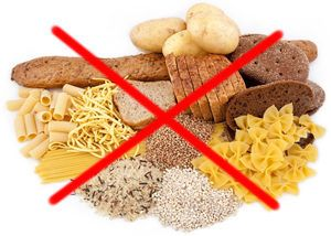 Reemplazar los alimentos con almidón