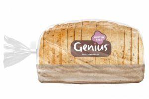 glutenvrije broodzak van het merk genius