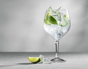 glaasje water met citroen