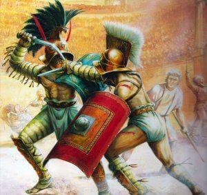 The Game Changers commence par une introduction à propos des gladiateurs romains