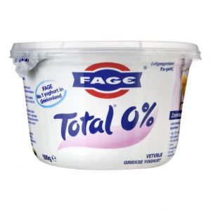 bakje Griekse yoghurt 0% vet van het merk Fage