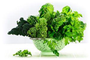 Mangez des légumes pauvres en amidon