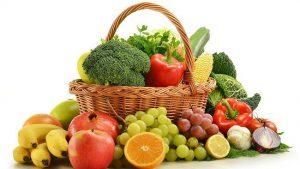 ruits et légumes recommandés contre le manque d'énergie