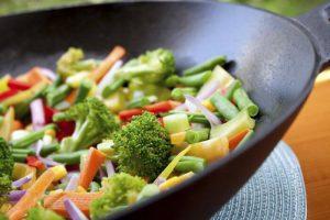poêlée aux légumes