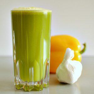Jus de légumes à l'ail pour purifier son corps