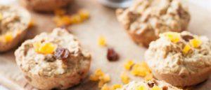 muffins de flocons d'avoine
