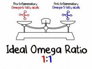 rapport oméga-6/oméga-3