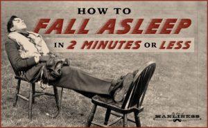 Comment s'endormir en moins de 2 minutes