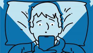 Évitez les écrans avant de dormir