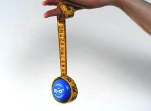 meetlint met een jojo