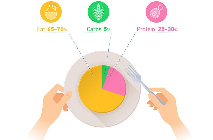 proportions régime cétose