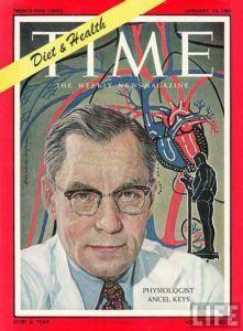 time magazine met wetenschapper Ancel Keys op cover