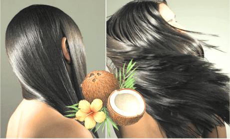 kokosolie als haarverzorging bij vrouwen